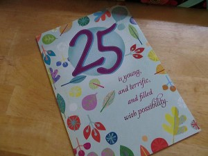 25th-birthday-card