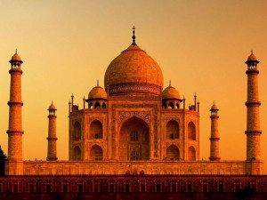 Taj-at-sunset