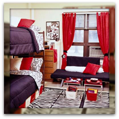 Dorm-type-bedroom