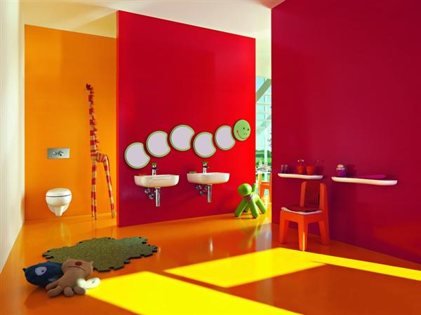 Kids Bathroom Decor, ديكور حمامات الاطفال  Kids Bathroom Designs