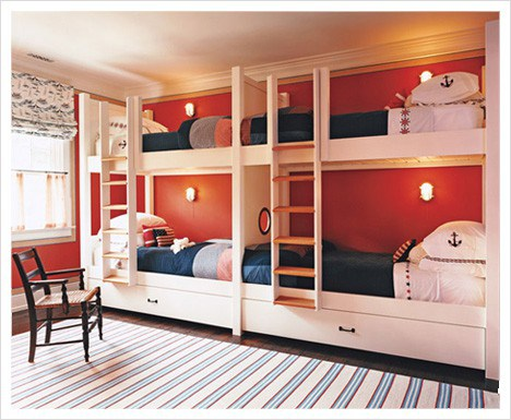 Quad-bedroom