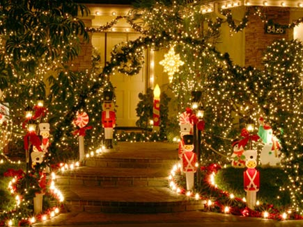 outdoor christmas decoration - Images For Christmas Decorations