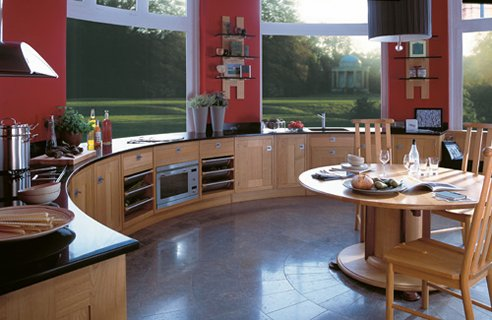 large kitchen dining bar seating e1349229920409 oversize kitchens