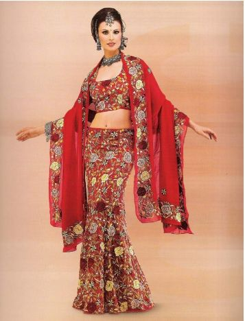 Indian wedding sari bridal dress pics wedding dress pics for Indian muslim wedding dress