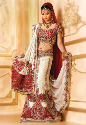 18 different types of indian wedding dresses for indian bride