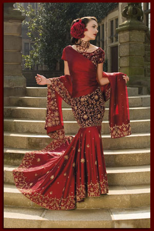 18 different types of indian wedding dresses for indian for Indian muslim wedding dress