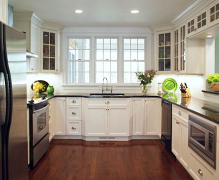 10 different types of kitchen ideas starsricha for Tiny u shaped kitchen ideas