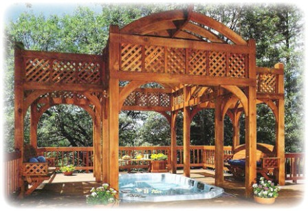 wooden-landscaping
