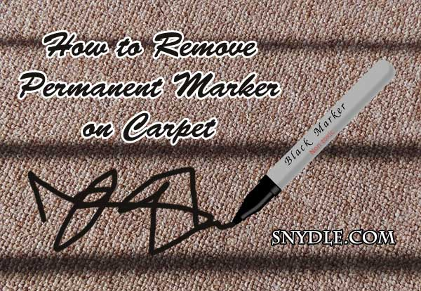 How To Remove Sharpie Out Of Carpet Carpet Vidalondon