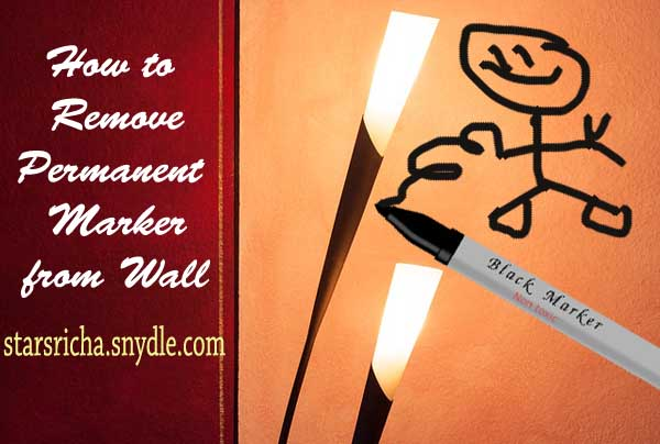 how-to-remove-permanent-marker-on-wall