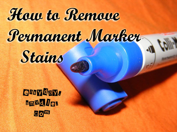 how to remove permanent marker starsricha