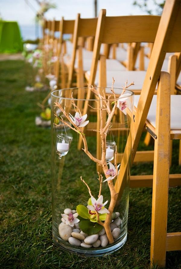 Diy wedding decoration ideas starsricha for Aisle decoration ideas