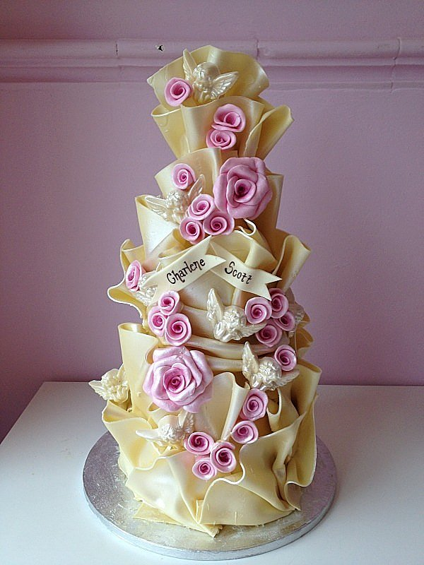Latest Wedding Cake Designs