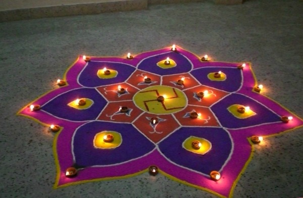 Diya Stand Designs : Latest rangoli designs for diwali starsricha