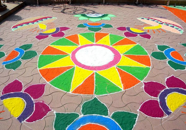 Latest Rangoli Designs For Diwali Starsricha