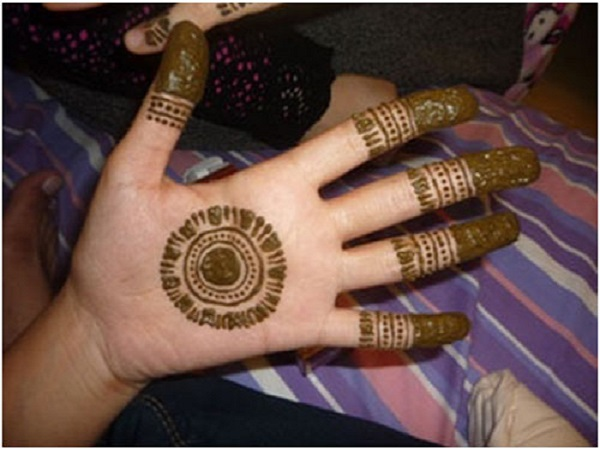 Mehndi Easy Design : Easy mehndi design for beginners starsricha