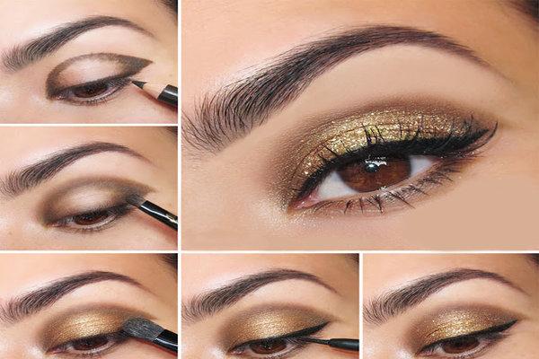 small eye makeup eye shadow