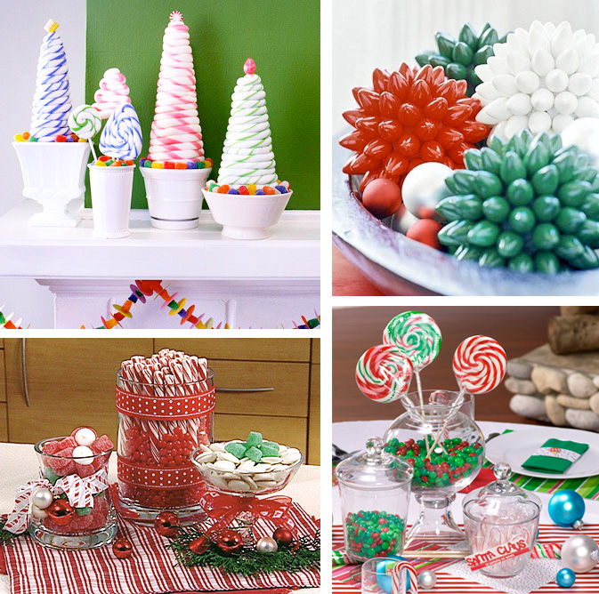 christmas table centerpiece ideas roselawnlutheran - Easy Christmas Table Decorations Ideas