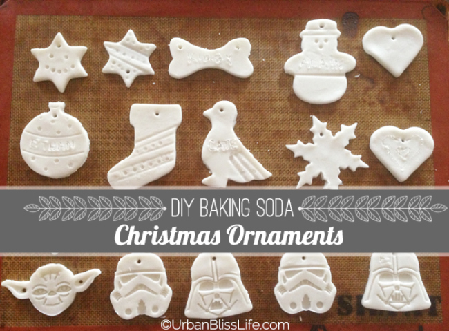 Baking Soda Christmas Ornaments