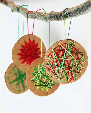 Cardboard Cookies Christmas Crafts For Kids