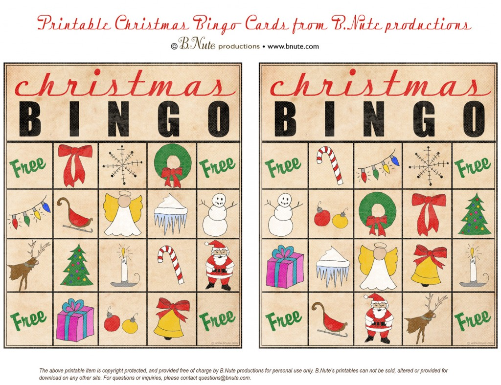 It's just a photo of Ridiculous Christmas Bingo Free Printable