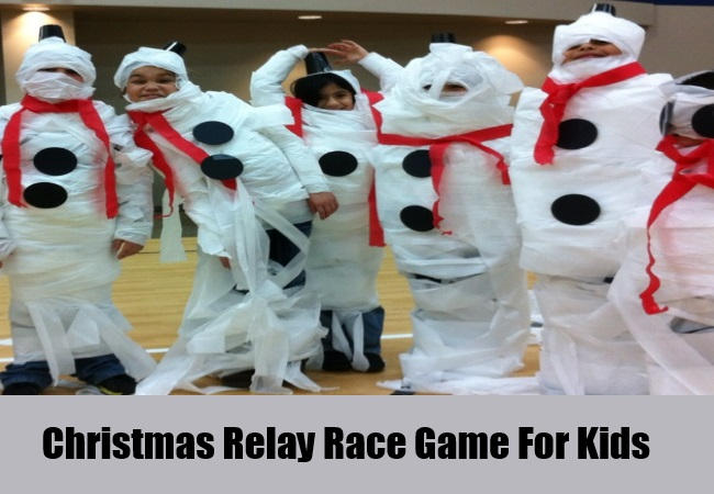 Christmas Relay Games For Kids
