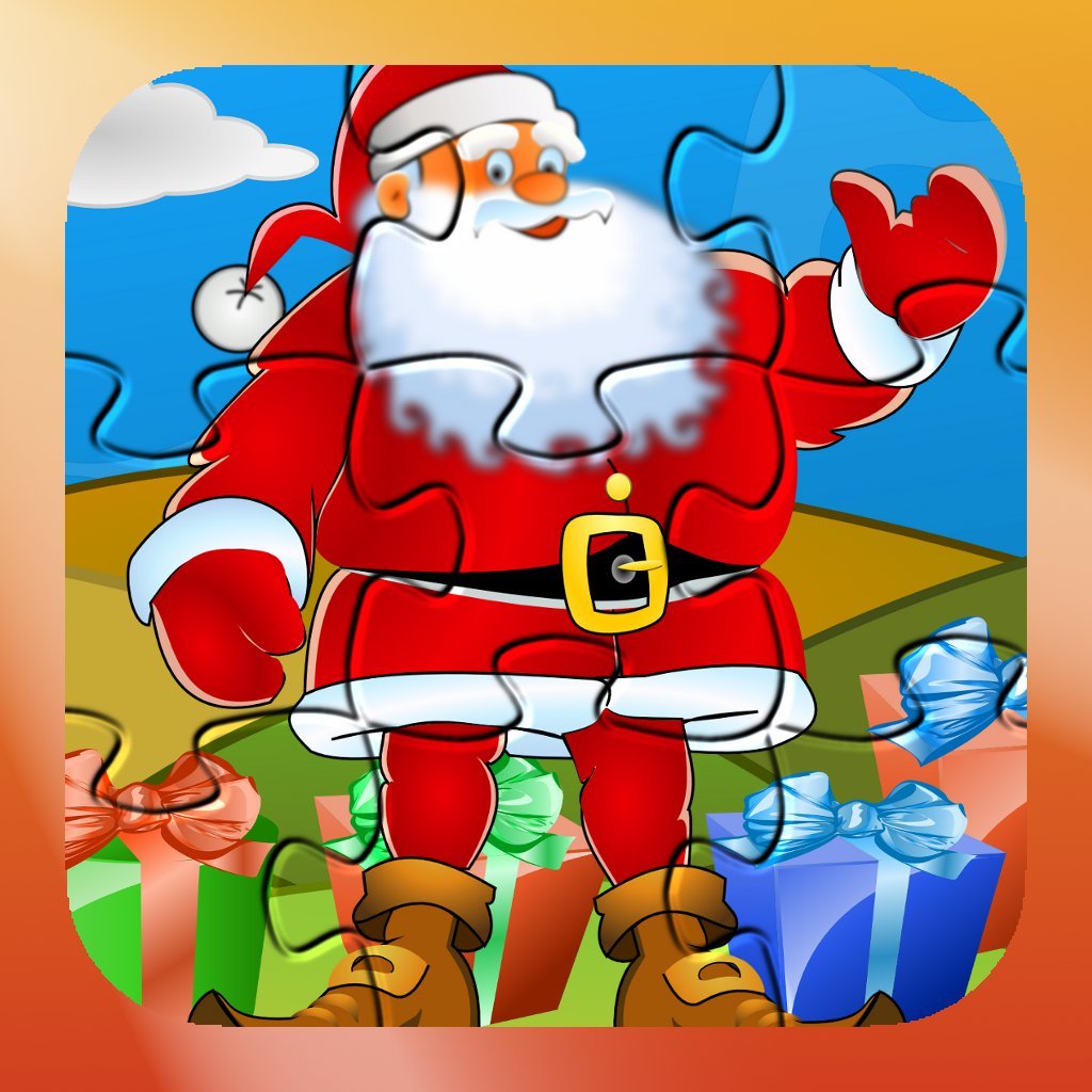 Christmas Santa Claus Puzzle Game For Kids