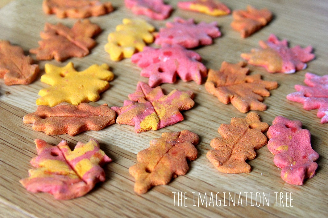 Cinnamon Salt Dough Tree Ornaments