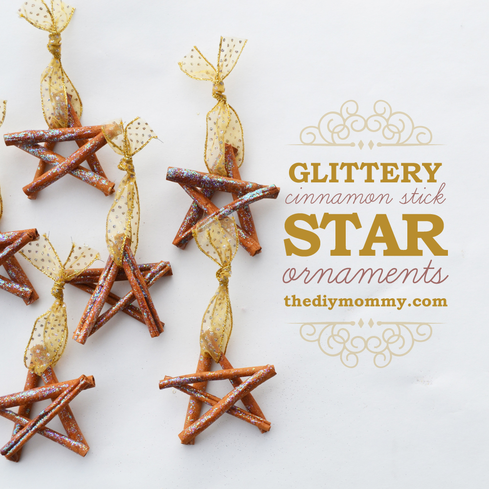 Cinnamon Stick Stars For Christmas Tree