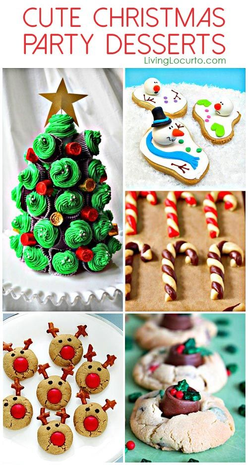 cute christmas treats for kids and adults
