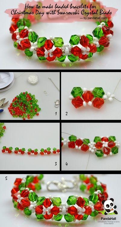 DIY Christmas Bracelets