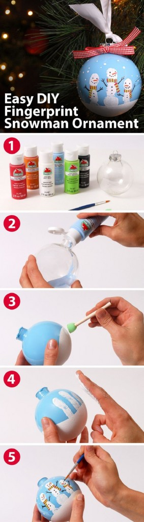 DIY Christmas Ornaments And Craft Ideas For Kids