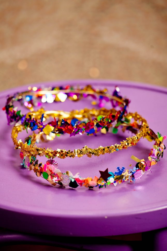DIY Confetti Crown