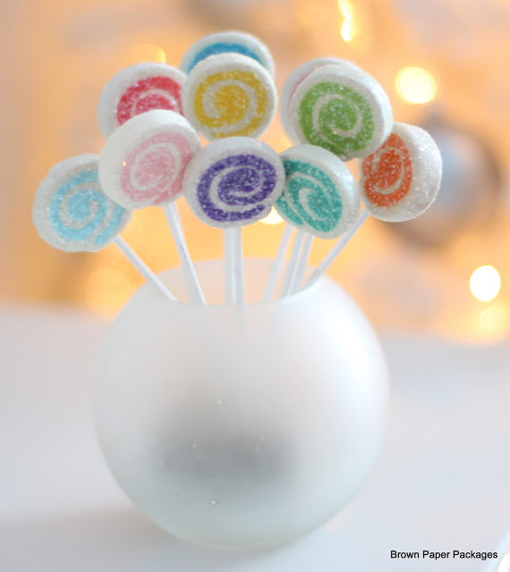 DIY Cutest Lollipop Ornaments