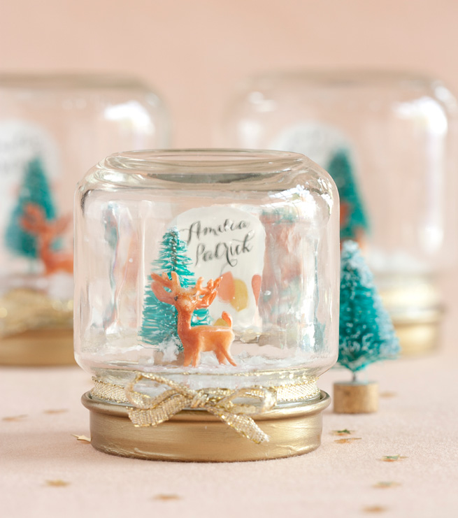 DIY Mini Snow Globe