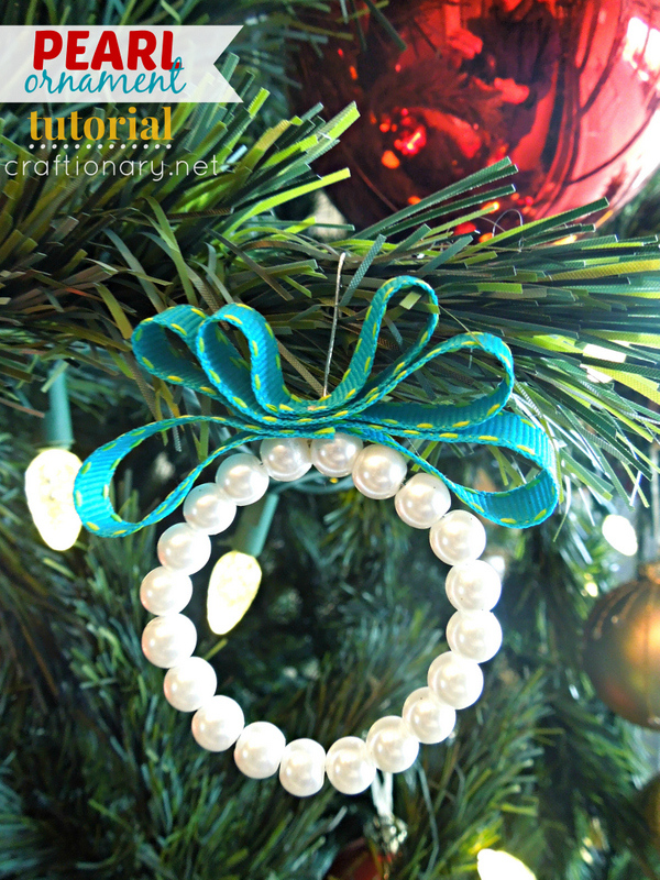 DIY Pearl Wreath For Kids