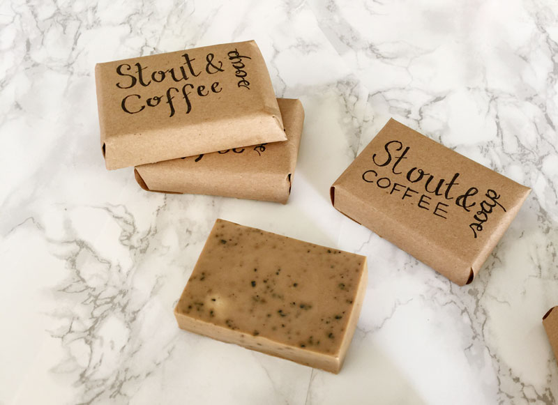 DIY Stout And Coffee Soap For Men