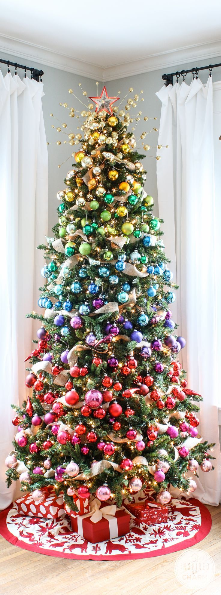 diy unique christmas trees ideas you should try this year - Pictures Of Pretty Decorated Christmas Trees