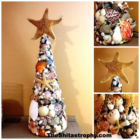 Shells Christmas Tree