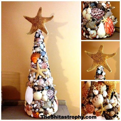 Shells Christmas Tree