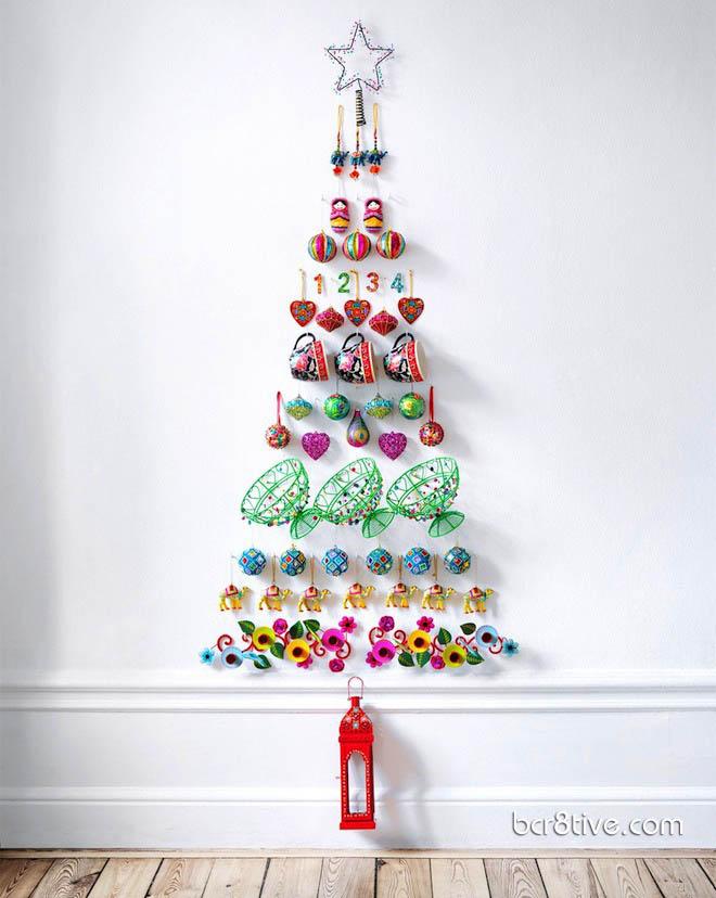 diy unique christmas tree ideas 7