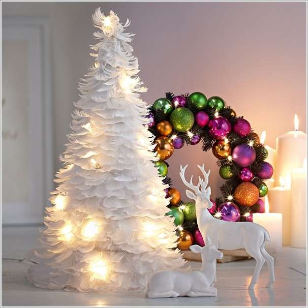 Whimsical Christmas Trees Ideas: DIY Unique Christmas Trees Ideas You Should Try This Year