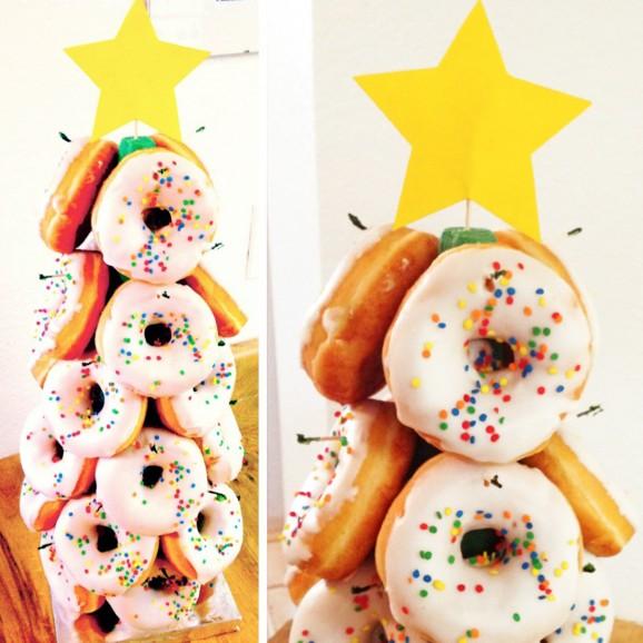 Donut Christmas Tree