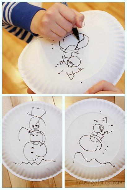 Draw The Snowman