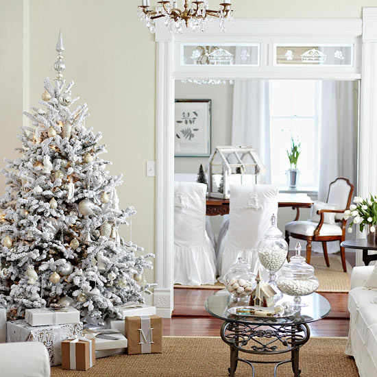 Drenched In White Living Room
