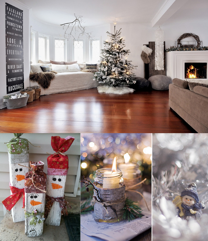 Elegant Christmas Living Room