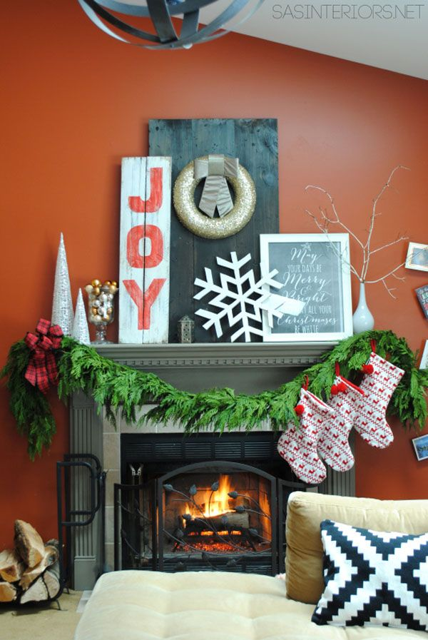 Gorgeous Mantel For Your Living Room Fireplace
