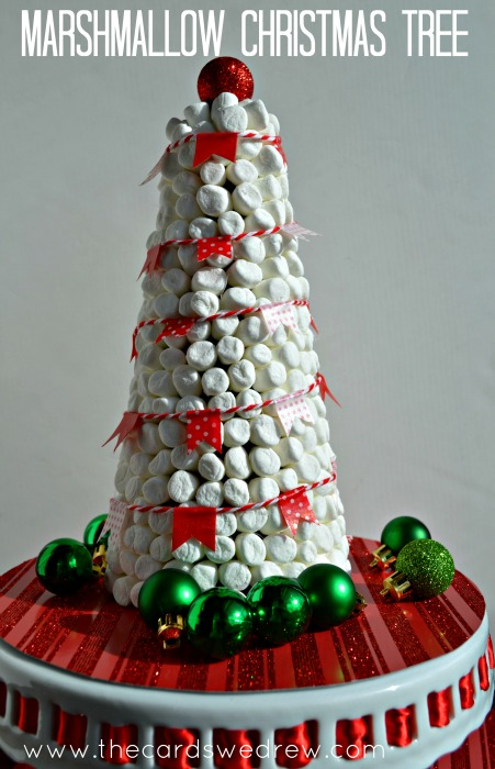 Hot Cocoa Bar Marshmallow Christmas Tree