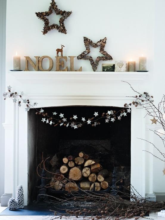 minimalist christmas living room dcor - Minimalist Christmas Decorations
