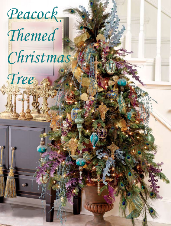 Ribbon Decorated Christmas Trees